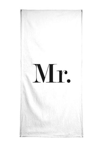 """Handtuch """"Mr."""", Juniqe kaufen"""