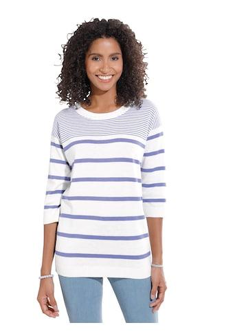 Classic Basics Pullover in lässiger Wohlfühl - Form kaufen
