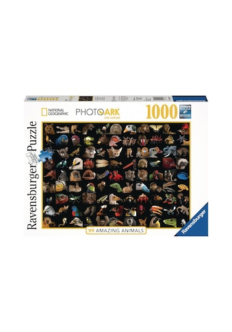 Ravensburger Puzzle »99 atemberaubende Tiere« kaufen