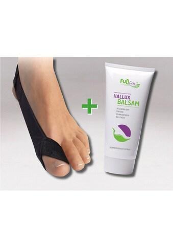 Fussgut Hallux-Bandage »Korrektur Schlaufe & Hallux Balsam«, links kaufen