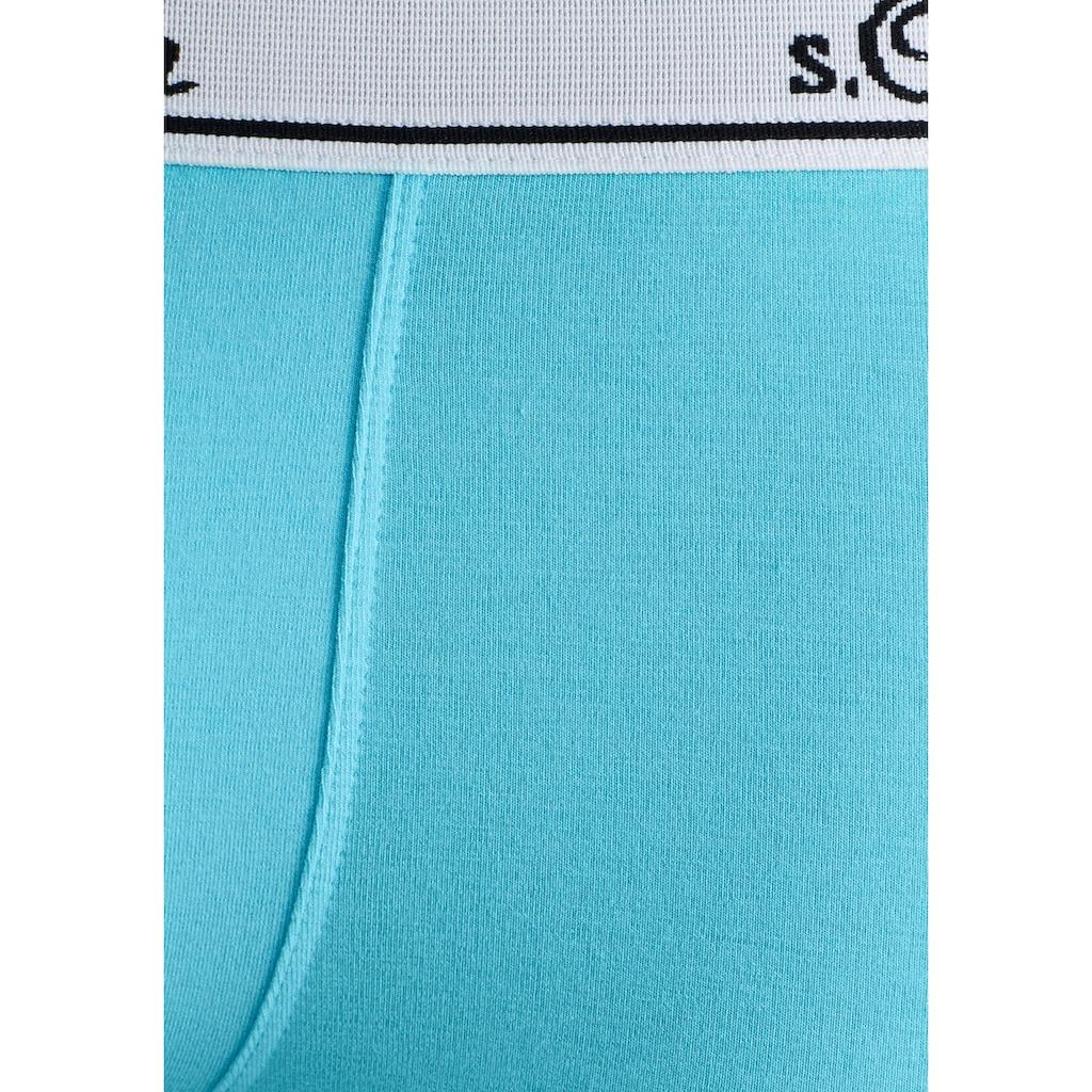 s.Oliver Bodywear Hipster, schöne Retro Pants mit weissem Webbund