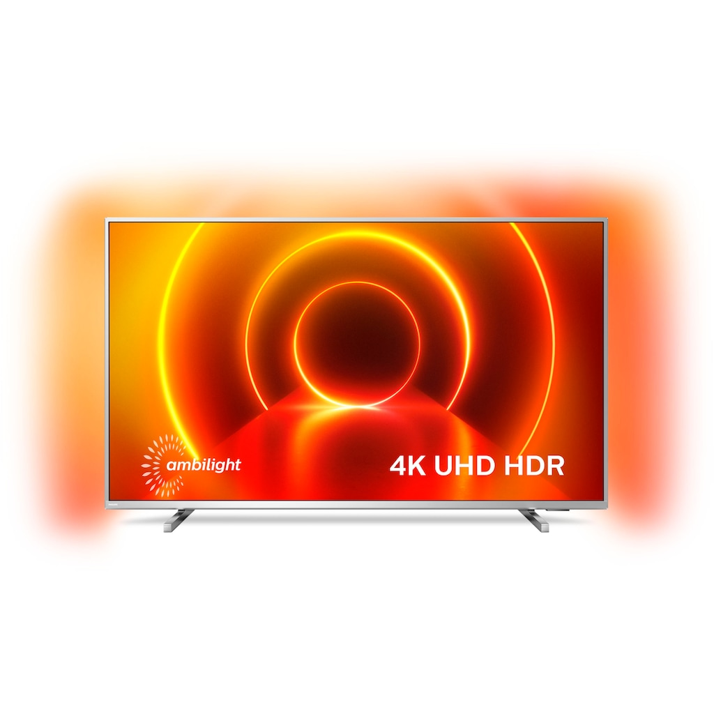 "Philips LED-Fernseher »58PUS8105/12«, 146 cm/58 "", 4K Ultra HD, Smart-TV, 3-seitiges Ambilght"