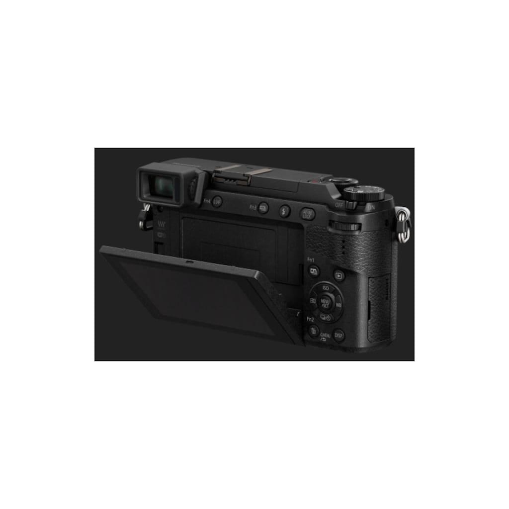 Panasonic Systemkamera »Fotokamera DMC-GX80KEG-K Kit«
