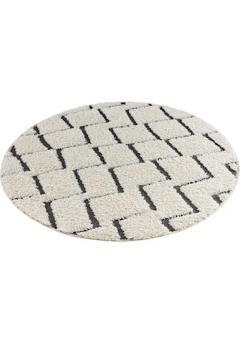 Teppich, »Dades«, MINT RUGS, rund, Höhe 22 mm, maschinell gewebt kaufen