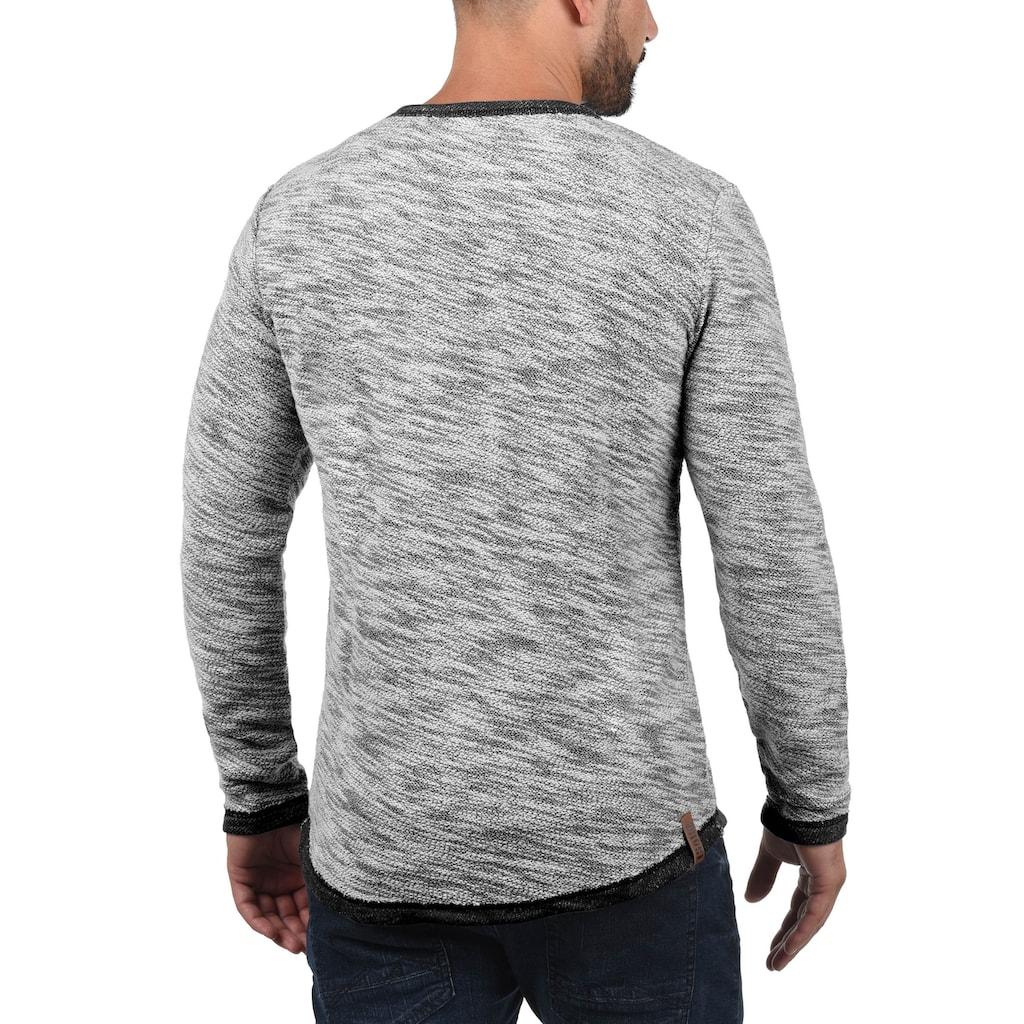 Solid Sweatshirt »Flocks«, Sweatpullover aus Flock-Sweat Material
