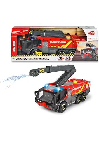 Dickie Toys Spielzeug-Feuerwehr »Airport Crash Tender«, mit Licht und Sound kaufen