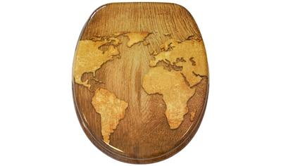 Sanilo WC-Sitz »World Map« kaufen