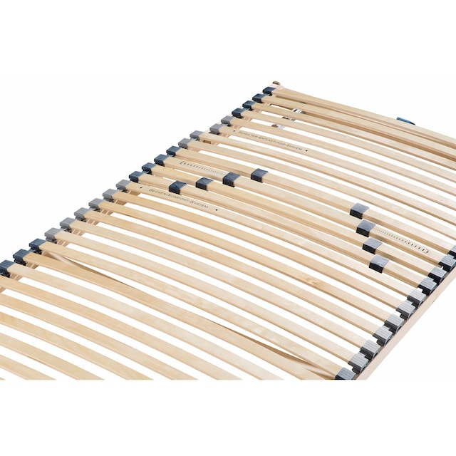 Lattenrost, »Noxus Flex K«, Beco, Kopfteil manuell verstellbar, (Set)