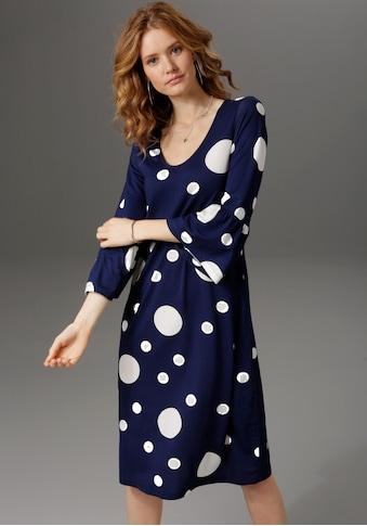Aniston CASUAL Jerseykleid, Punkt für Punkt ein Hit kaufen