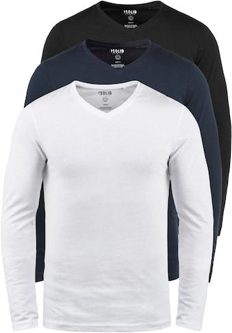 Solid Langarmshirt »Basil« kaufen