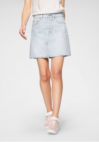 Levi's® Jeansrock »deconstructed Iconic Bf Skirt«, mit Knopfverschluss kaufen