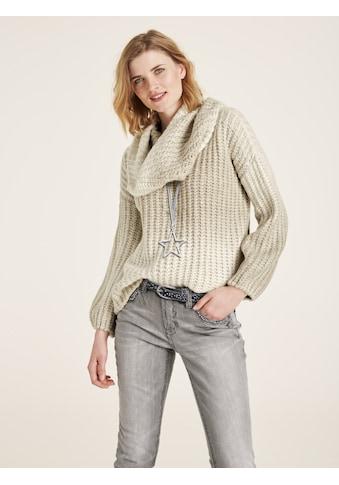 Pullover mit U - Boot Ausschnitt kaufen