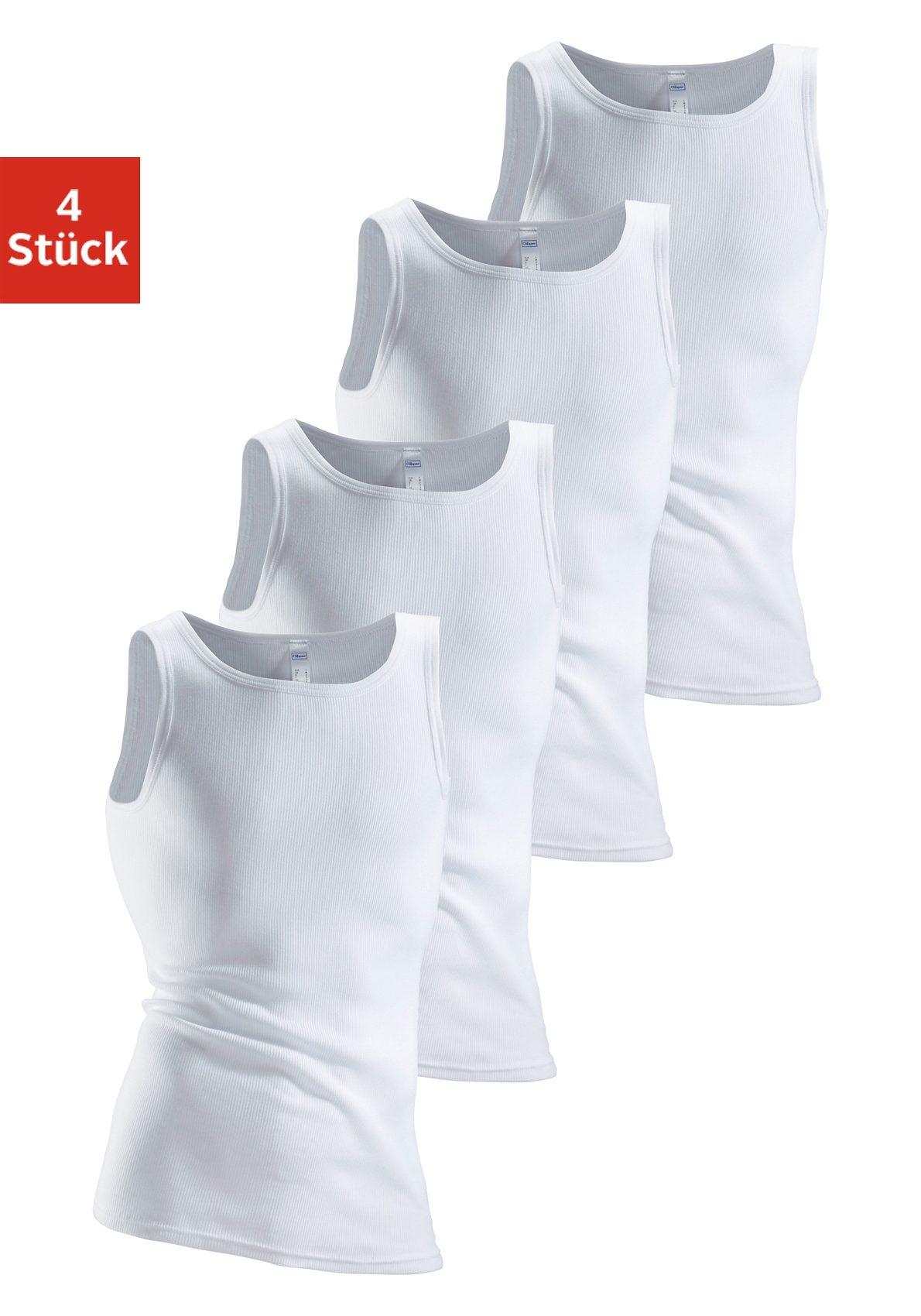 Image of Clipper Unterhemd, 4 Stück