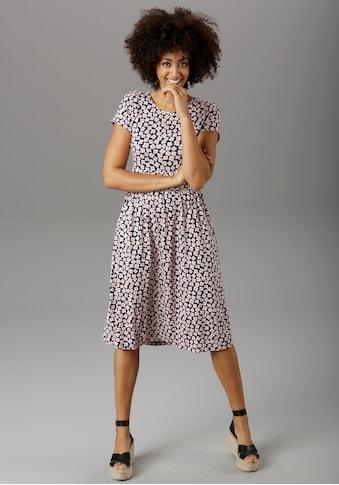 Aniston SELECTED Sommerkleid, mit breitem Bund in der Taille kaufen
