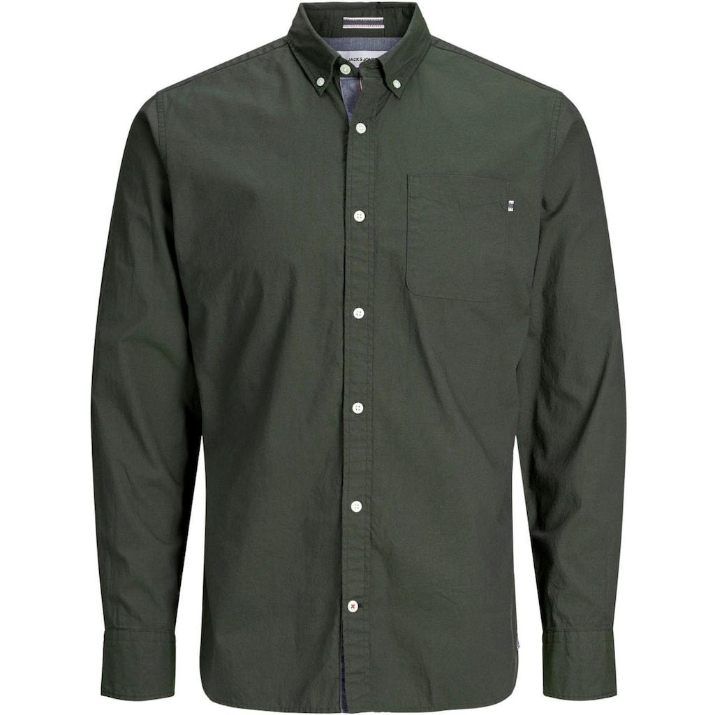 Jack & Jones Langarmhemd »CLASSIC SOFT OXFORD SHIRT«