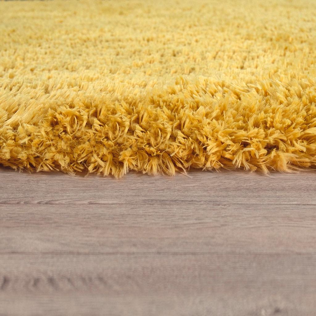 Paco Home Hochflor-Teppich »Bamba 410«, rechteckig, 45 mm Höhe, waschbar, Wohnzimmer