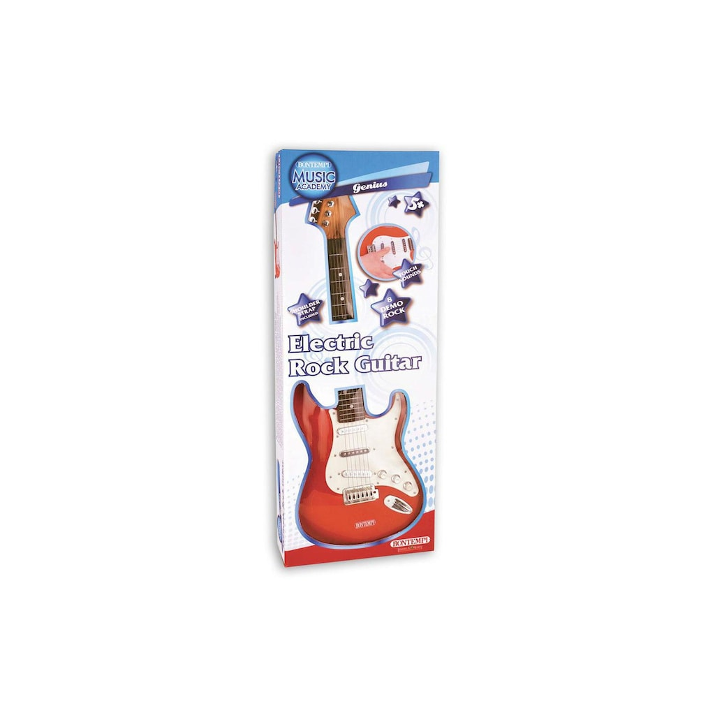 Spielzeug-Musikinstrument »elektronische Rock Gitarre«