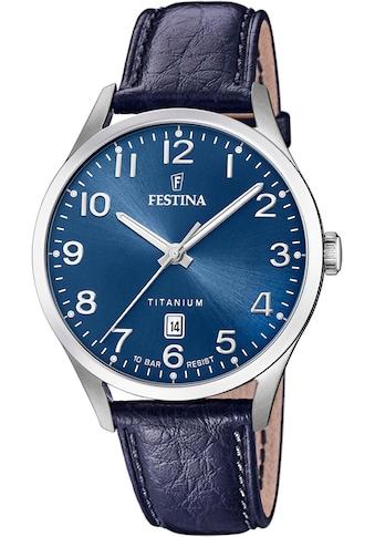 Festina Quarzuhr »Titan, F20467/2« kaufen