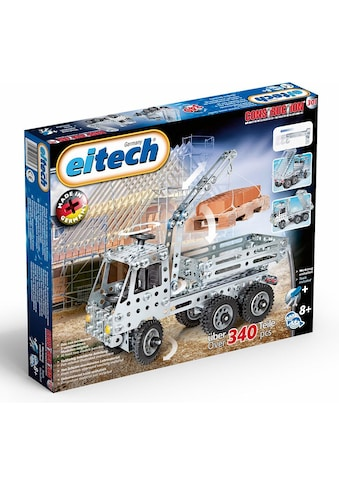 Eitech Metallbaukasten »LKW + Kipper«, (340 St.), Made in Germany kaufen