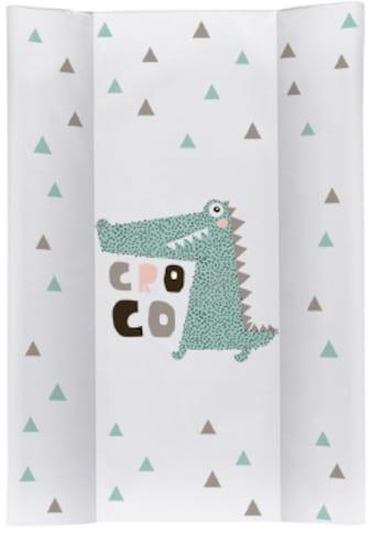Rotho Babydesign Wickelauflage »Cheeky Croco«, Keilform; Made in Europe kaufen
