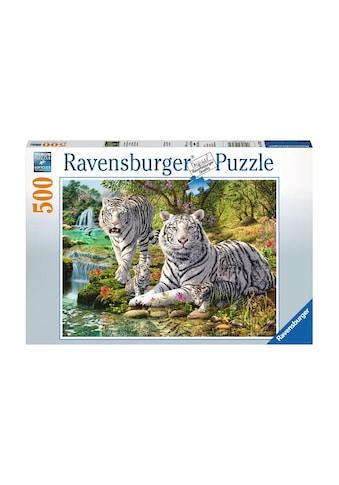 Ravensburger Puzzle »Weisse Raubkatze« kaufen
