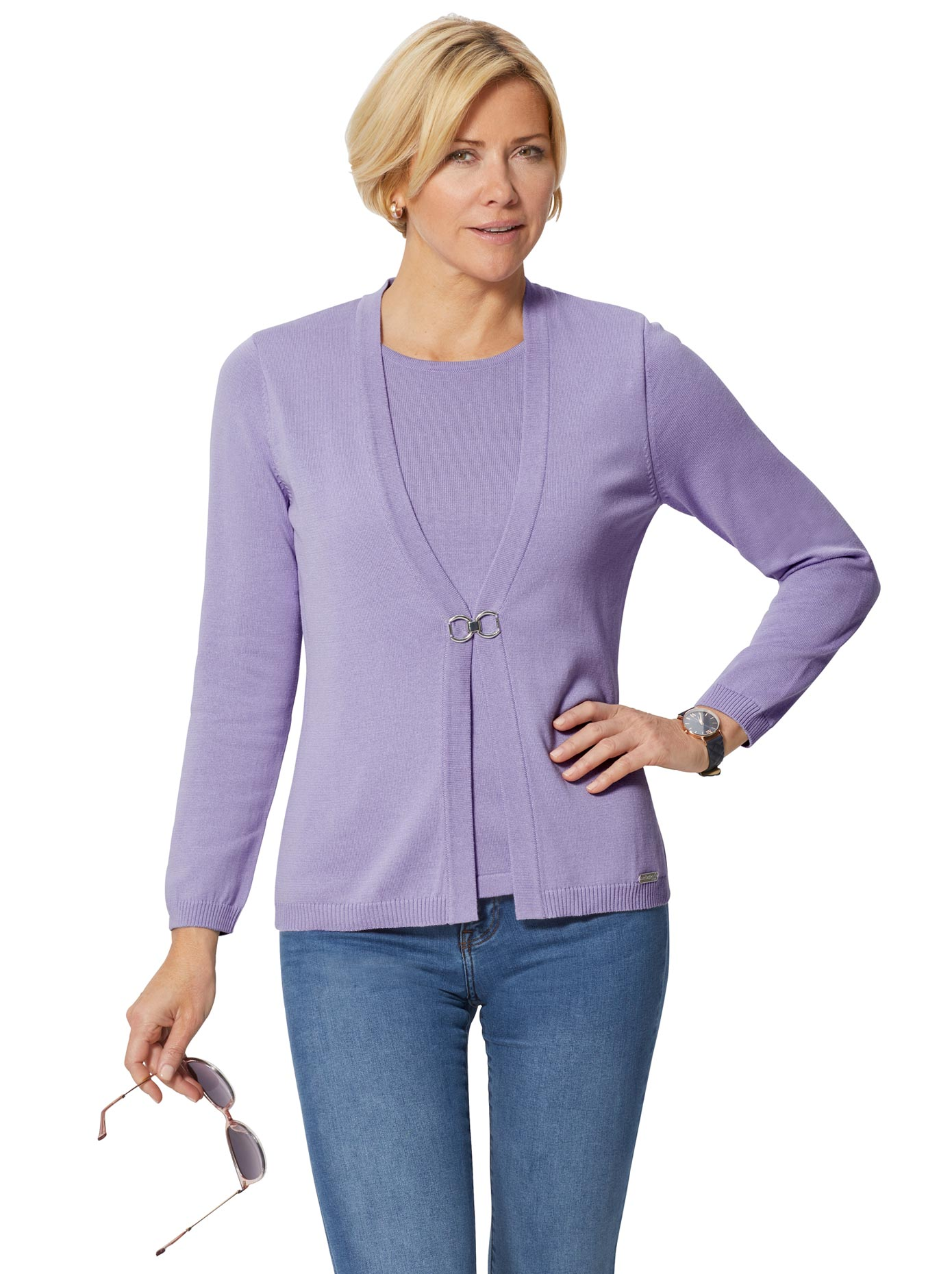 Image of Casual Looks Pullover in 2-in1-Optik