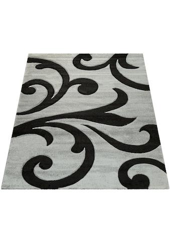 Paco Home Teppich »Diamond 761«, rechteckig, 18 mm Höhe, 3D-Design, Kurzflor mit... kaufen