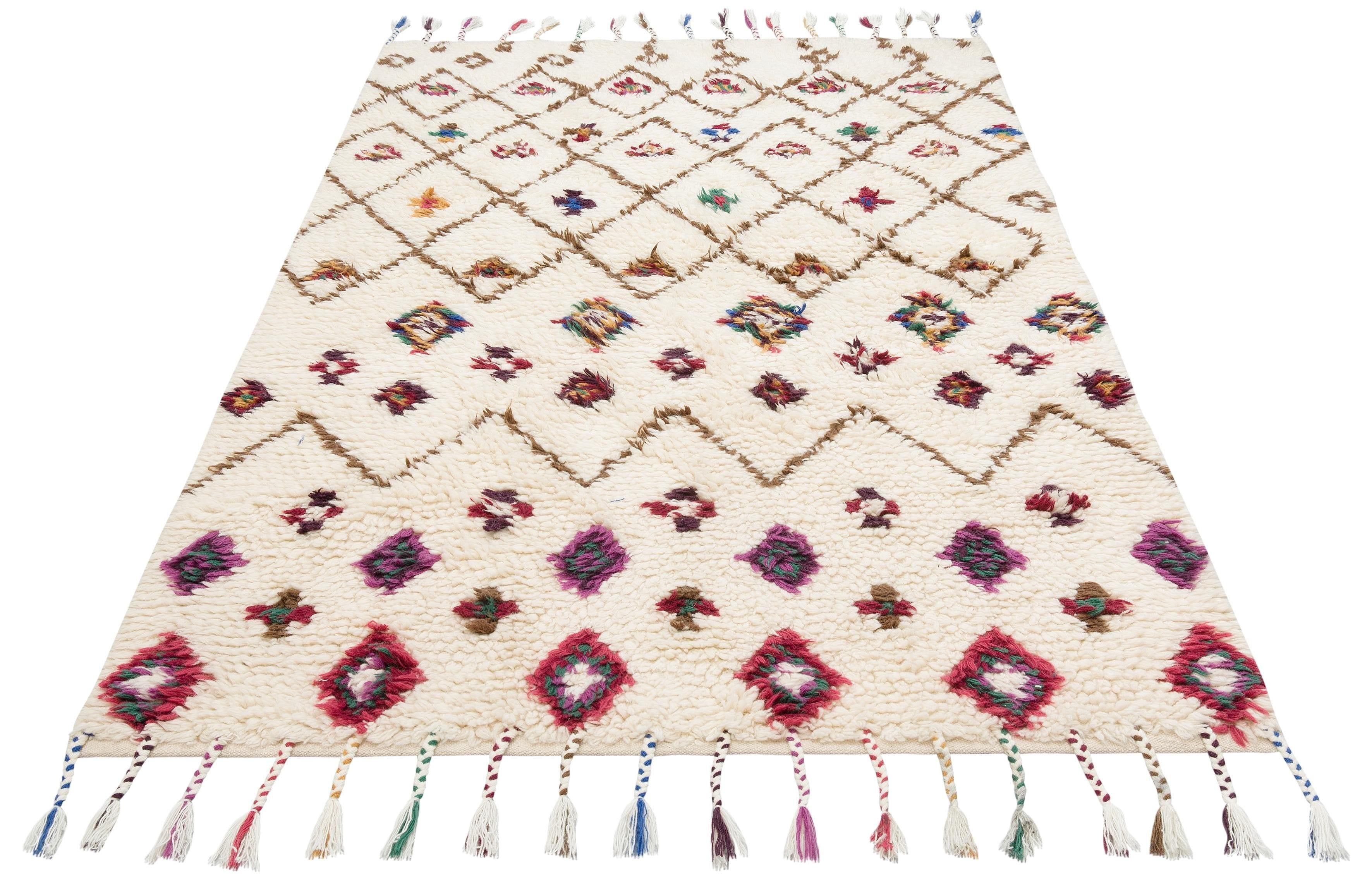 Image of Teppich, »Allzeit«, 170QM, rechteckig, Höhe 20 mm, handgewebt