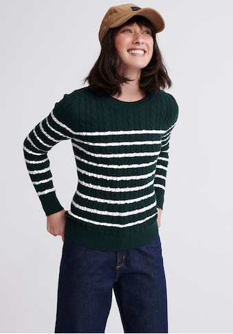Superdry Strickpullover »CROYDE BAY CABLE KNIT« kaufen