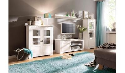 Home affaire Wohnwand »Laura«, (Set, 3 tlg.), mit 1 Vitrine, 1 TV-Lowboard und 1 Highboard kaufen