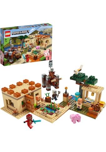 """LEGO® Konstruktionsspielsteine """"Der Illager - Überfall (21160), LEGO® Minecraft™"""", Kunststoff, (562 - tlg.) acheter"""