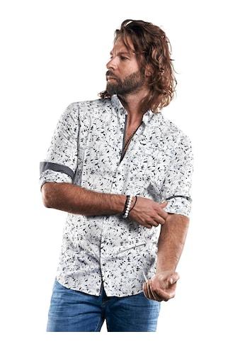 emilio adani Langarmhemd mit floralem Druck kaufen