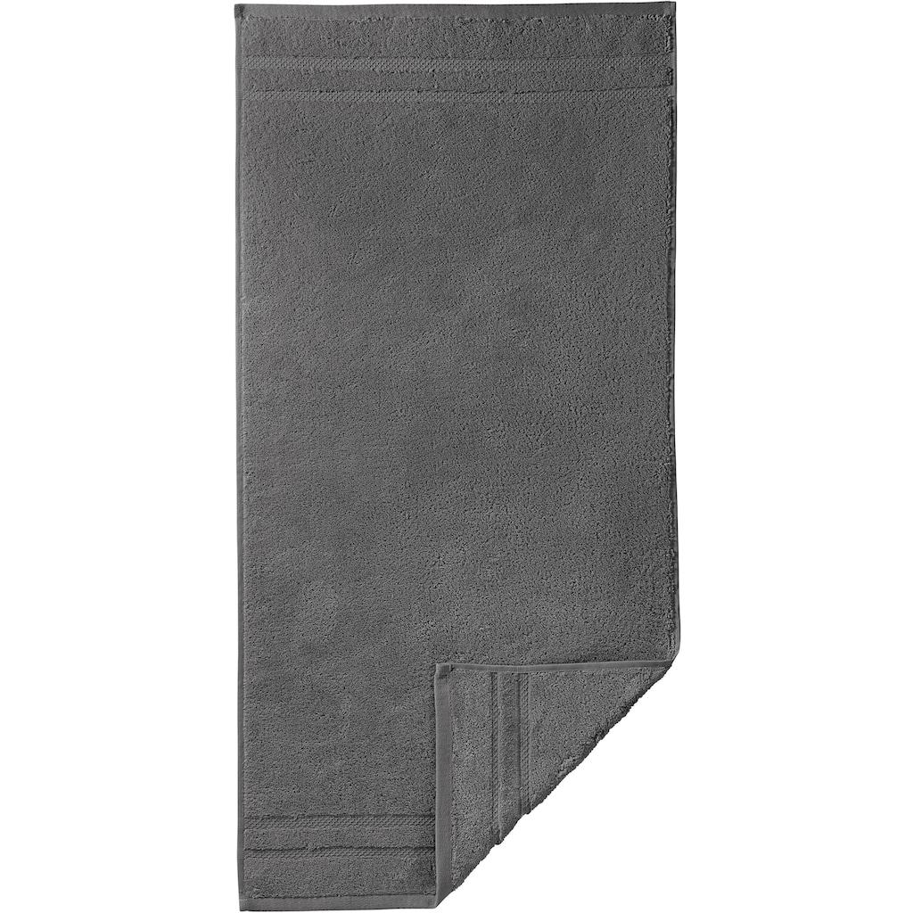 Egeria Handtuch »Micro Touch«, (2 St.), mit Bordüre