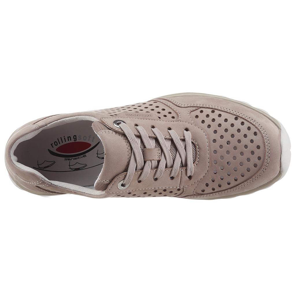 Gabor Rollingsoft Keilsneaker, mit seitlichem Logoschriftzug