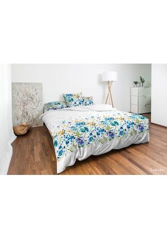 Nobilium Bettbezug »Mariette, Baumwoll-Satin«, (1 St.), in Aquarellfarben kaufen