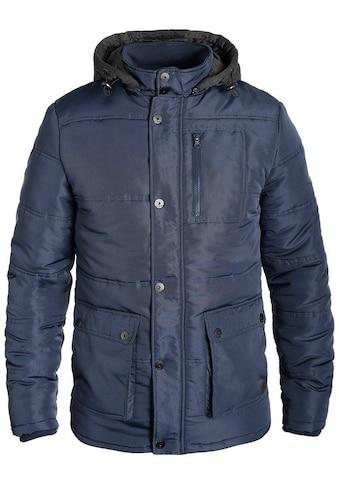 Blend Winterjacke »Lima«, warme Jacke mit gefütterter und abnehmbarer Sweatkapuze kaufen