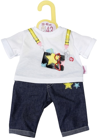 Zapf Creation® Puppenkleidung »Dolly Moda Jeans Hosen Outfit, 39-46 cm« kaufen