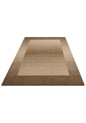 Theko Exklusiv Wollteppich »Gabbeh Super«, rechteckig, 9 mm Höhe, reine Wolle, Wohnzimmer kaufen