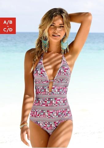 Sunseeker Badeanzug, mit grafischem Print kaufen