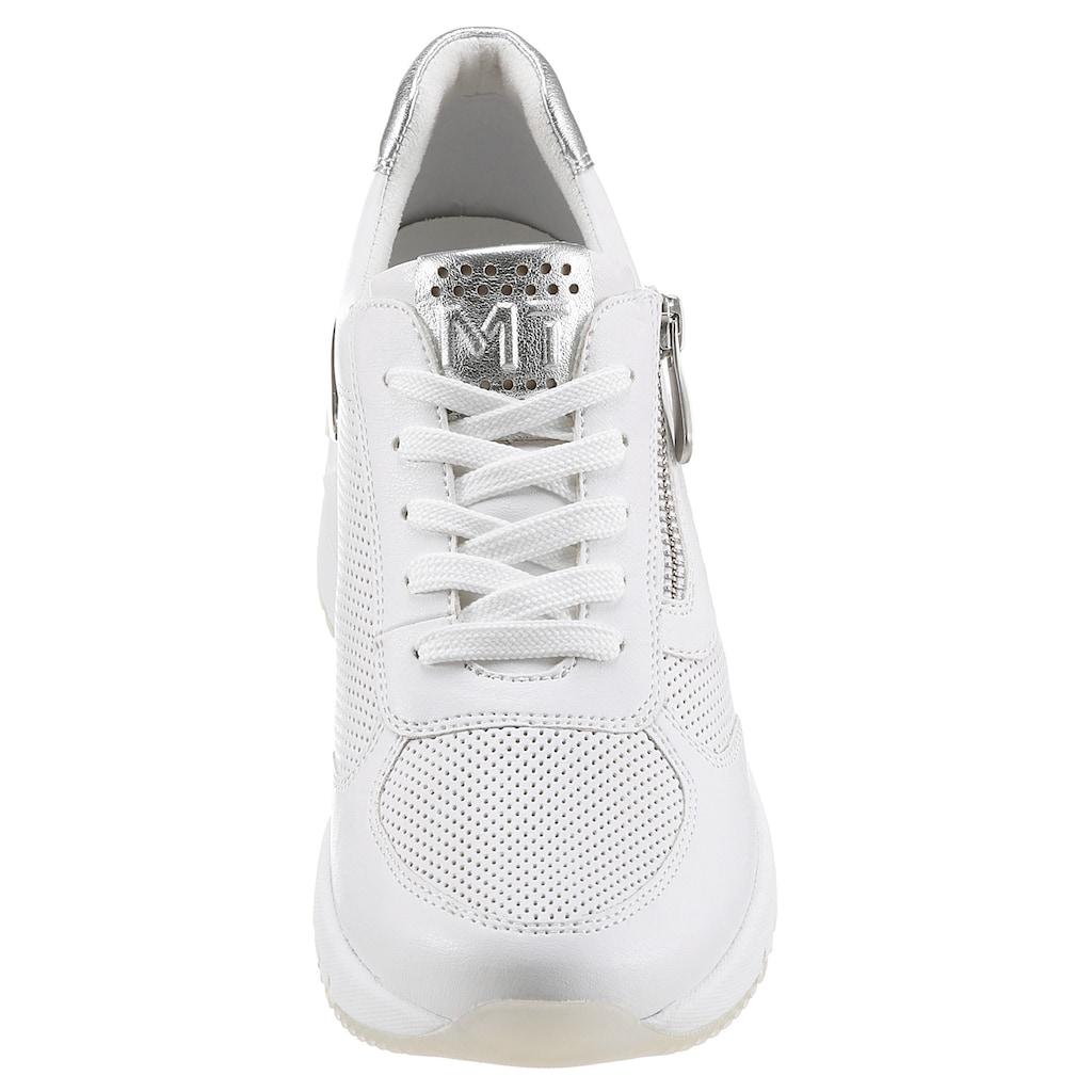 MARCO TOZZI Wedgesneaker, mit Wechselfussbett