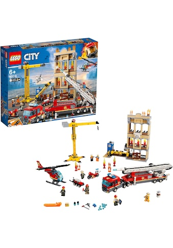 LEGO® Konstruktionsspielsteine »Feuerwehr in der Stadt (60216), LEGO® City«, (943 St.) kaufen