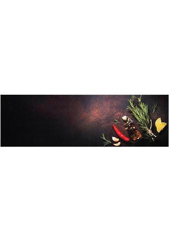 Zala Living Küchenläufer »Kitchen Spices«, rechteckig, 5 mm Höhe, waschbar, rutschhemmend kaufen