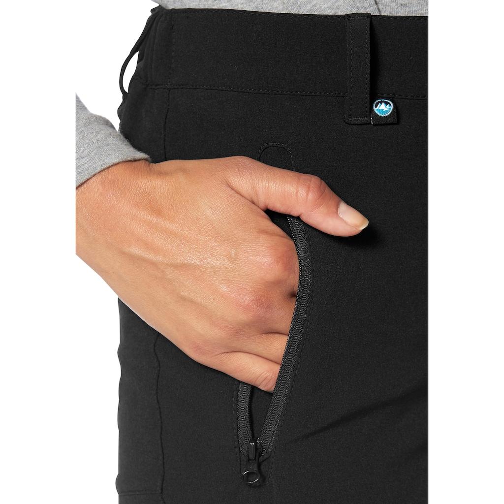 Polarino Funktionshose, mit Reissverschlusstaschen