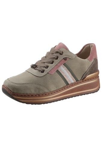 Ara Wedgesneaker »SAPPORO«, mit Kontrastbesätzen, G-Weite kaufen