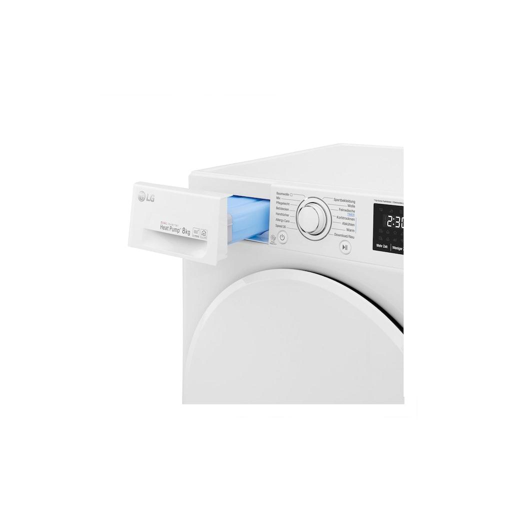 LG Wärmepumpentrockner »RT8DIHP A+++«
