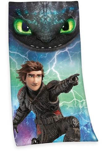 Badetuch »Dragons 3«, (1 St.), mit Drachenmotiv kaufen