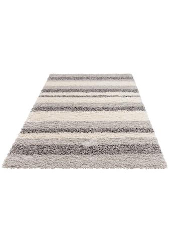 Hochflor - Teppich, »Riga«, Home affaire, rechteckig, Höhe 45 mm, maschinell gewebt kaufen