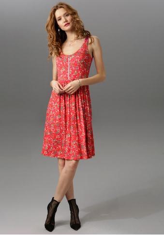 Aniston CASUAL Sommerkleid, mit Stern-Anhänger am Reissverschluss kaufen