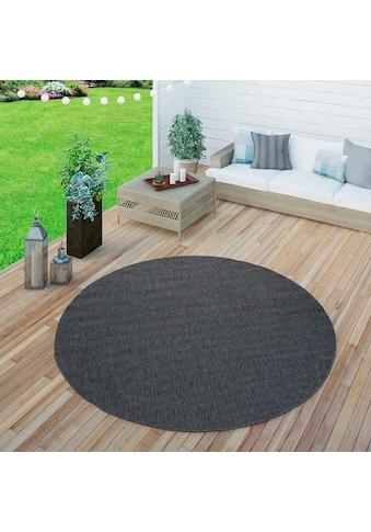 Paco Home Teppich »Timber 125«, rund, 75 mm Höhe, Sisal Optik, In- und Outdoor geeignet, Wohnzimmer kaufen