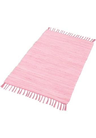 THEKO Läufer »Happy Cotton Fleckerl«, rechteckig, 5 mm Höhe, Teppich-Läufer,... kaufen